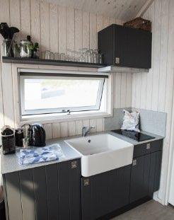 keuken van strandhuisje katwijk