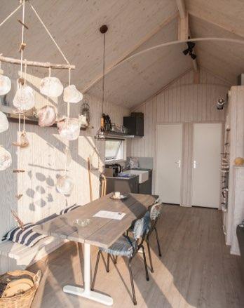 inrichting van een nieuw strandhuisje in katwijk aan zee