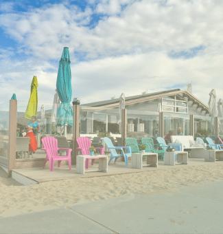 strandpaviljoen katwijk strandhuisje